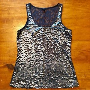 Women's Sequin Tank Top